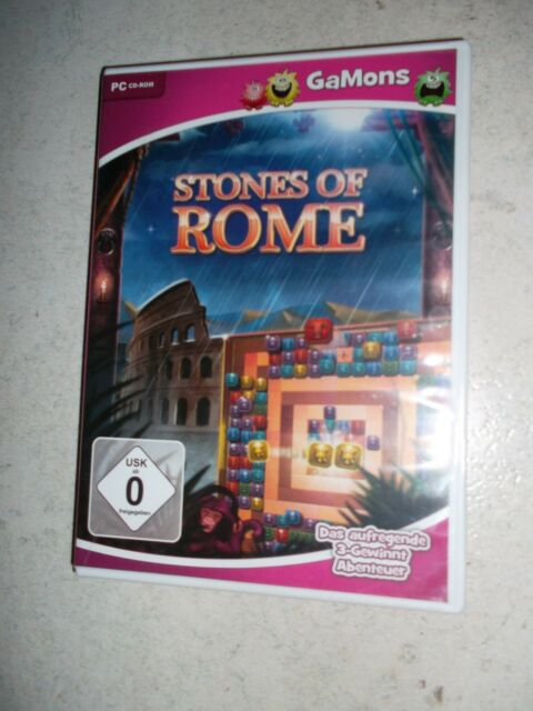 Stones Of Rome (PC, 2014, DVD-Box) - 3 Gewinnt Abenteuer Match 3 Topspiel Kult