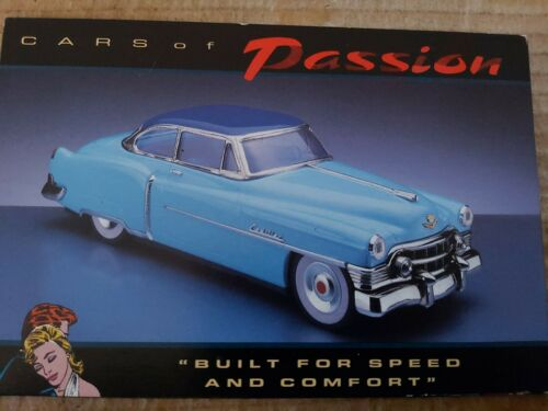 4x /'CARS OF PASSION/' AMERICAN CAR POSTCARDS PHOTOGRAPHED BY COLIN BARKER