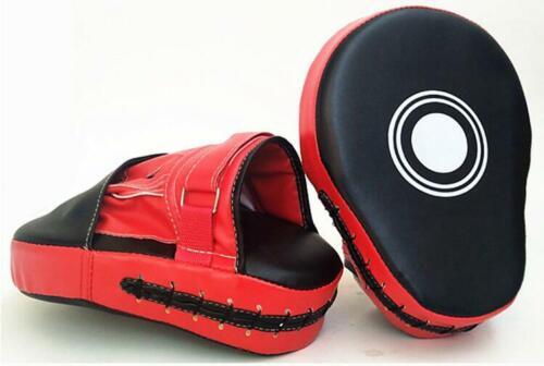 Boxing Mitt Training Focus Target Punch Pad Gloves MMA Karate Combat Thai Kick
