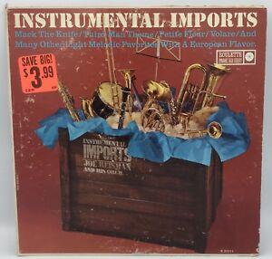 Vintage-Joe-Reisman-And-His-Orchestra-Instrumental-Imports-Vinyl-LP