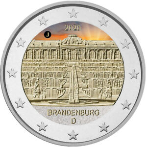 2-Euro-Gedenkmuenze-BRD-2020-Schloss-Sanssouci-coloriert-Farbe-Farbmuenze-1