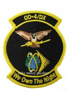 USAF-Air-Force-Black-Ops-OD-4-DX-NRO-Onyx-Satellite-We-Own-The-Night-Patch-New