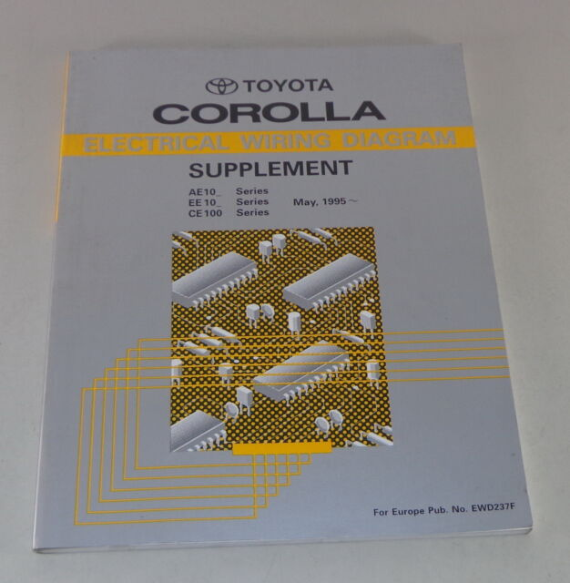 Workshop Manual Toyota Corolla Electrical Wiring Diagram