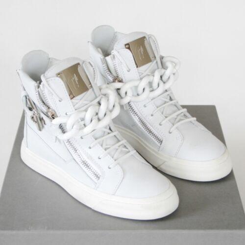 Giuseppe Sneakers White Zanotti Off Hi Schoenen Nieuw 35 Chain Leren Top Birel mP0Oyv8wNn