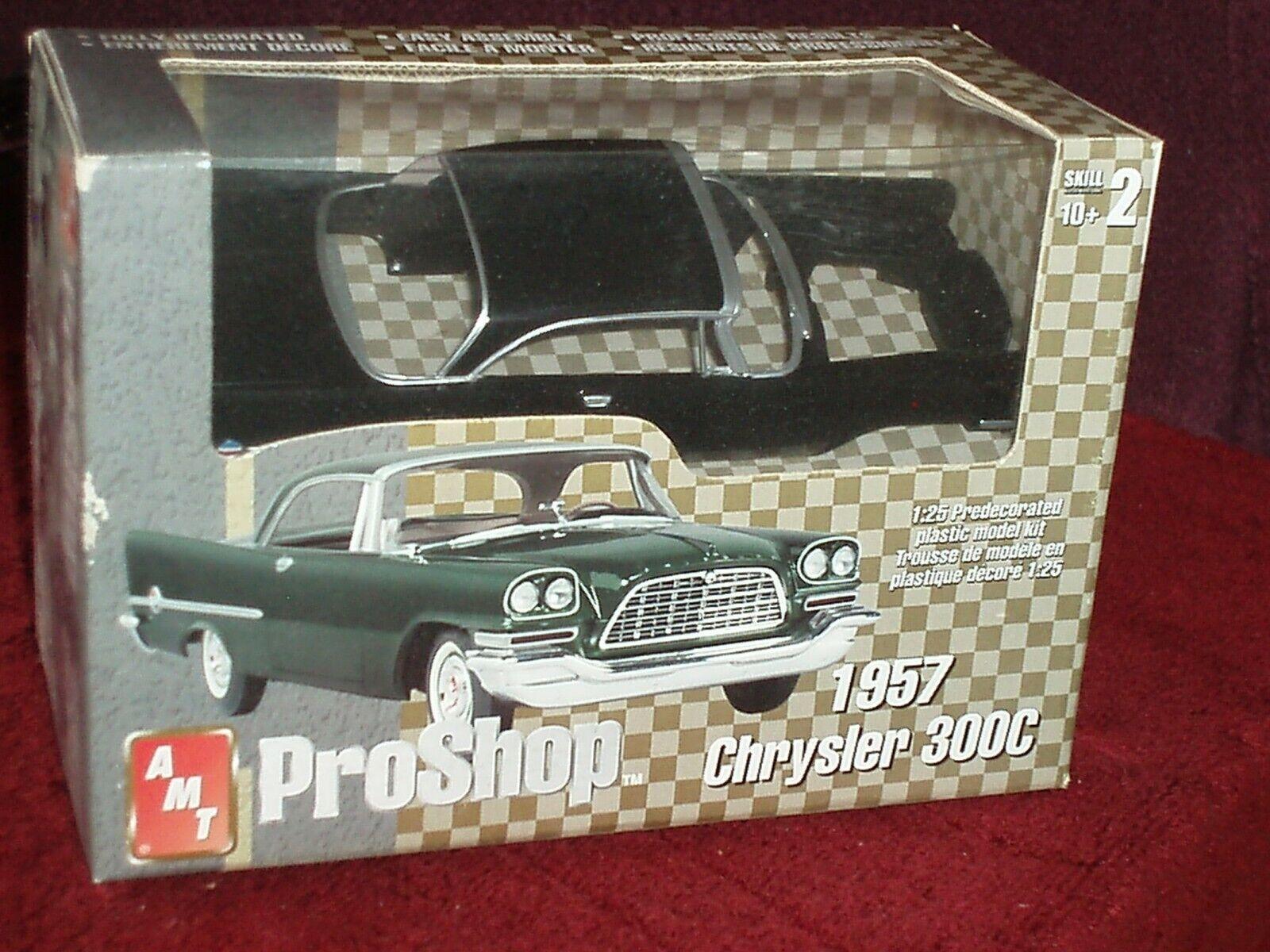 Juguetes Modelo De Aluminio Pro Shop 1957 Chrysler 300C 1 25 Prepintado Kit plástico modelo