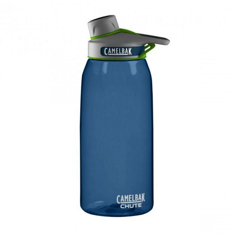 New Camelbak Chute Water Bottle BPA Free blueeegrass 1L Tumbler Leak Proof Safe
