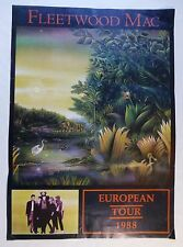Rare Fleetwood Mac Tango in the Night Poster (Stevie Nicks)