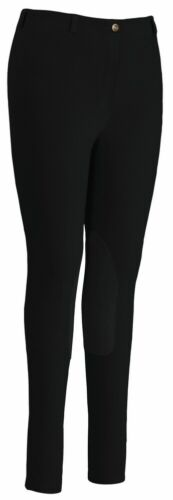 Peitsche Collection Ladies Equestrian Horse Riding Breeches Pants 32L Black NIP