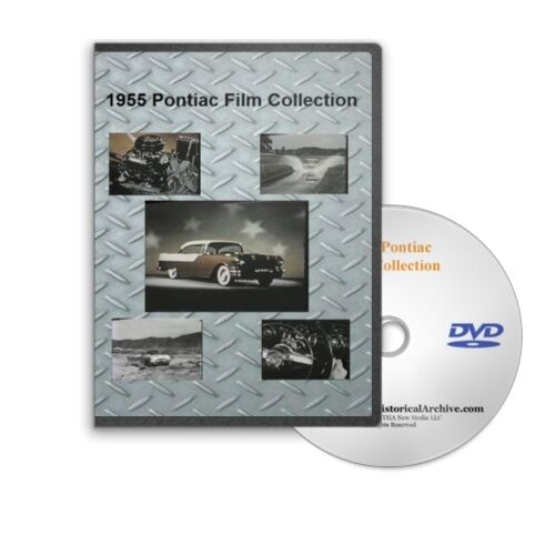 C113 1955 Pontiac Sales /& Promotional Film  Collection Performance Testing