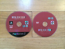 Metal Gear Solid 2: Sons of Liberty for PS2 *Discs Only*