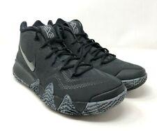 the latest 40d5b 21b32 Nike Kyrie 4 Mens 943806-008 Triple Black Basketball Shoes ...