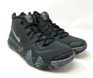 sale retailer a3a02 7ca46 Nike Kyrie 4 Blackout Black 943806-008 Basketball Shoes Triple Black ...