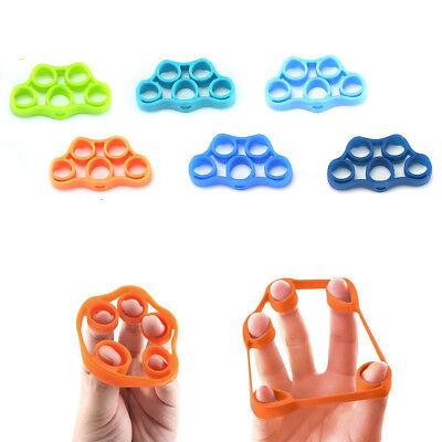 BD9E Hand Exerciser Grip Strength Exercise Finger Stretcher Trainer Silicone