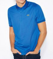 Lacoste Sport Ultra Dry Men's Polo Shirt Top T-Shirt Genuine - Blue