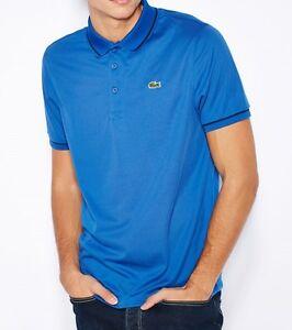 1b0c56d78 Lacoste Sport Ultra Dry Men s Polo Shirt Top T-Shirt Genuine - Blue ...