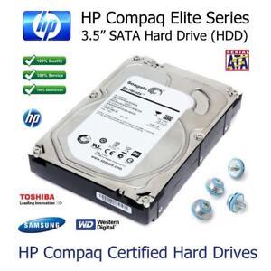 250GB-hp-Compaq-8100-Elite-SFF-3-5-034-SATA-Rigide-Lecteur-HDD-Remplacement