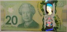 Gem UNC Canada $20 2015 commemorative Queen's historic reign polymer Bank Notes