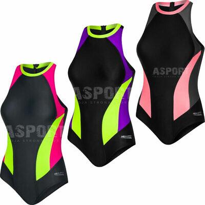 Badeanzug Damen Schwimmanzug Einteiliger Nina Aqua-speed 4 Farben