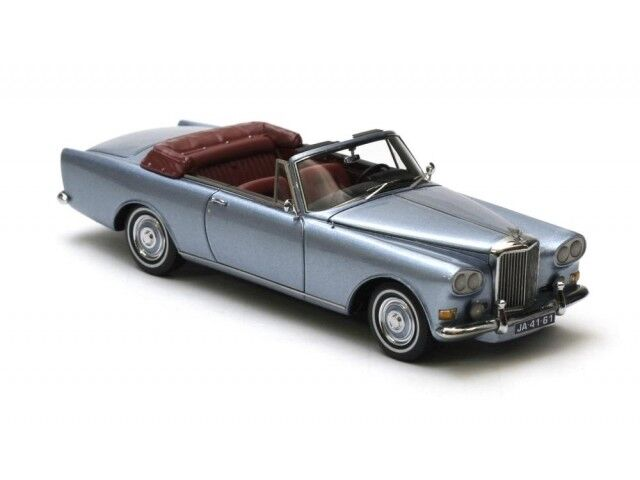 Bentley SIII Continental MPW DHC Blau Metallic 63 - 65, model cars 1 43