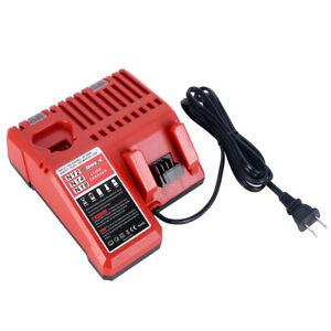 New-48-59-1812-Lithium-Ion-Battery-Charger-for-Milwaukee-12V-amp-18V-M12-amp-M18
