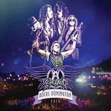 Aerosmith Rocks Donington (DVD, 2015, 2 CDs/DVD)
