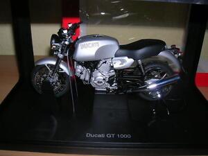 AUTOart Ducati GT 1000 / GT1000 silver, 1:12 Motorcycle Motorbike Moto