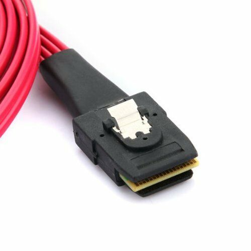 "AYA Mini SAS to 4-SATA SFF-8087 Multi-Lane Forward Breakout Internal Cable 19/"""