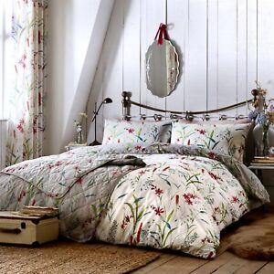 Details about Dreams & Drapes CELINE Multicolour Matching Bedroom Bedding &  Curtains