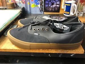 c93236332c75fb Image is loading Vans-Authentic-PRO-Asphalt-Gum-US-Men-039-