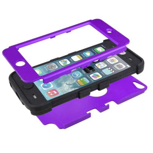 Heavy Armor Duty Full Body Protective Cover Triple Layer For iPod Touch 6 5 Case