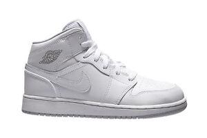 hot sale online adc97 e3438 Image is loading Nike-Air-Jordan-1-Mid-BG-554725-112-