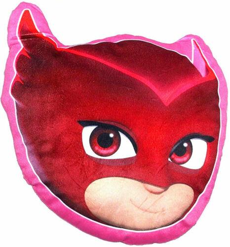 PJ Masks Pyjamahelden Plüsch Kissen 35 x 30 cm Groß  Neu