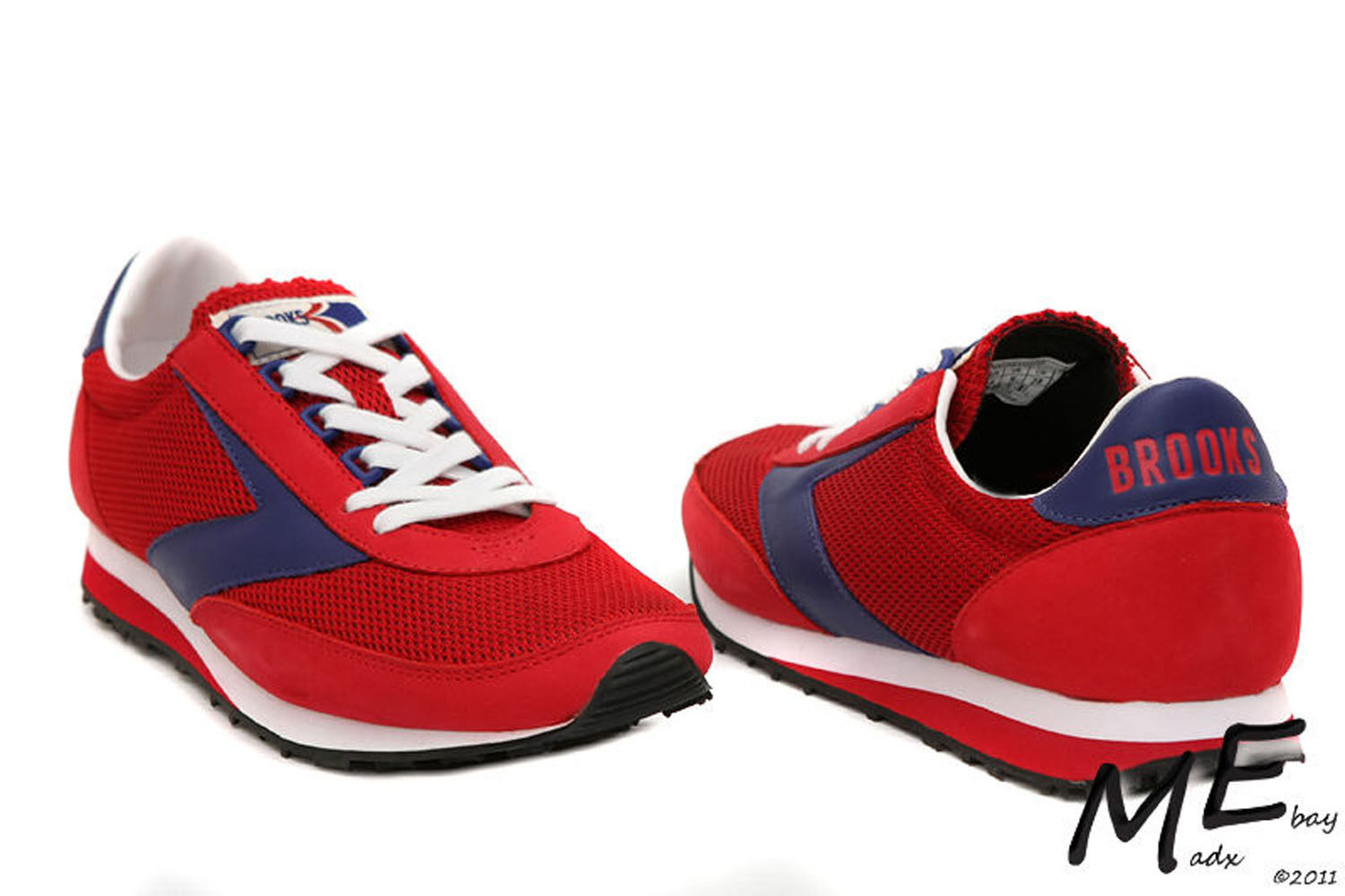 New Brooks Vantage Heritage Collection rouge Chaussures running hommes Chaussures rouge sz 10.5 59716c