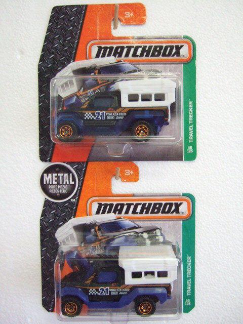 2x MATCHBOX mb96 (mw1011) Travel tracteur 2016 2016 2016 both variants on diff. Short Crads bc7c7f