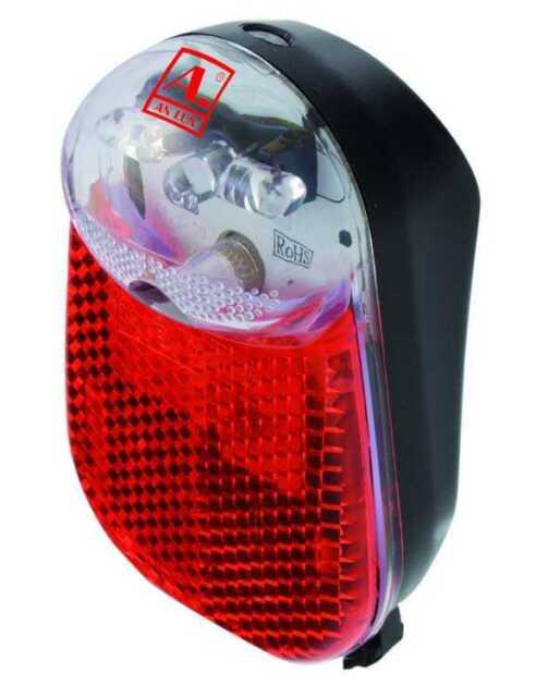 Fahrrad Rücklicht Standlicht mit 3x LED s für Dynamobetrieb mit Kondensator