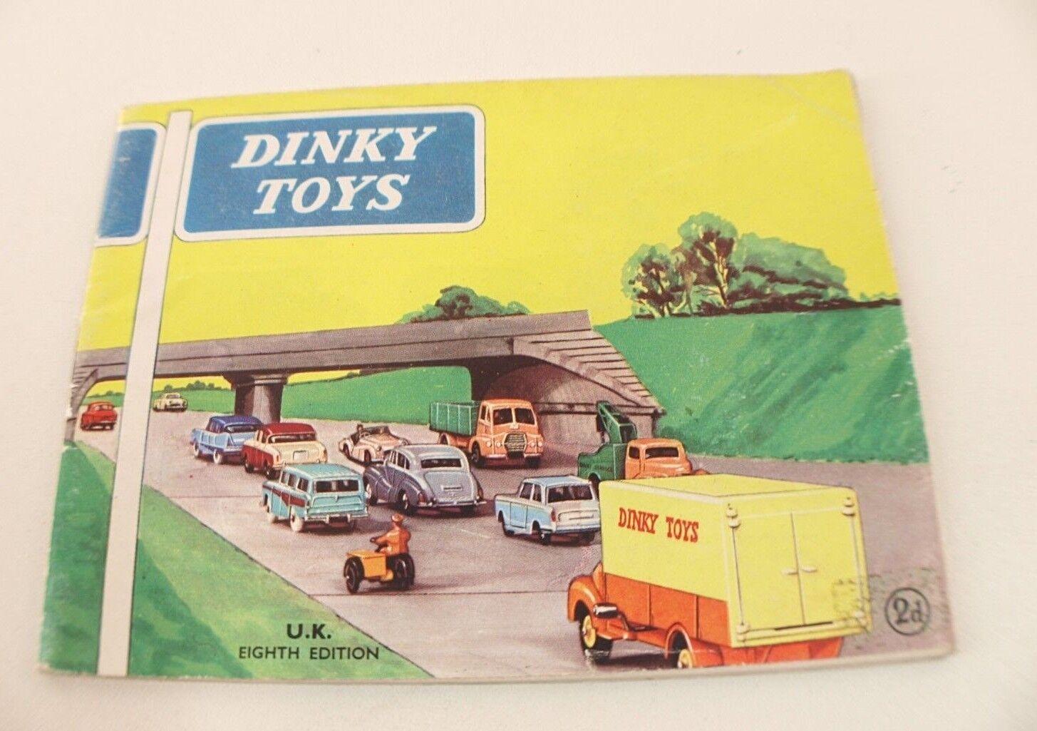 Catalog Dinky Toys GB n.8 eight edition