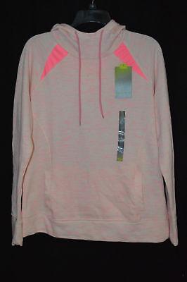 Tek Gear Space-Dye Pink Zap Workout Women's Hoodie - Size L NWT