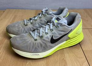Observar falda Miniatura  Nike Lunarglide 6 Trainers Size UK 7 Grey Green Women's Gym Training   eBay