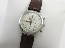 JAEGER LeCOULTRE MASTER CONTROL CHRONOGRAPH GENTS SLIM WATCH 145.8.31