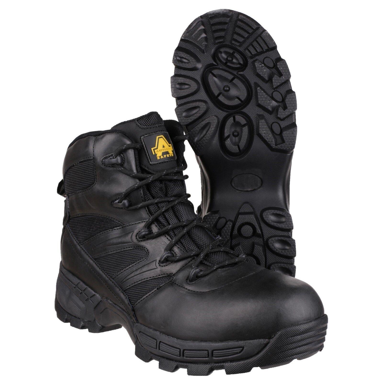 Amblers FS410 PIRANHA Stivali di sicurezza S3 impermeabile in acciaio punta pelle impermeabile S3 di lavoro da uomo 1bf84e