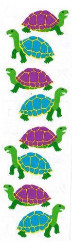 Mrs Grossman/'s Colorful Turtles Tortoises Scrapbook Stickers 3 Strips!