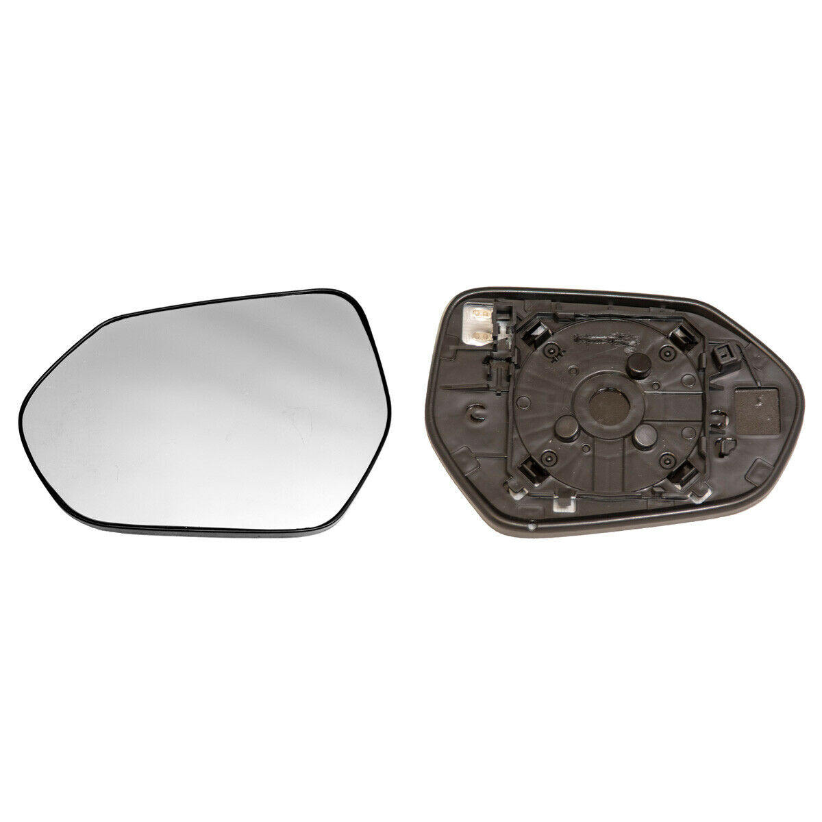 RENAULT SCENIC 2016-/> 2019 WING MIRROR GLASS RIGHT SIDE HEATED WITH BASE PLATE