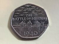 50p Fifty Pence Coin Battle Of Britain 2015