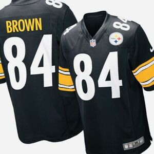 sneakers for cheap 03790 2794b Details about NIKE NFL PITTSBURGH STEELERS GAME JERSEY ANTONIA BROWN -  Medium