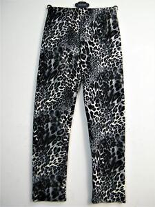 Uk12 Taglie Saloos Cream Elastic Pants Leopard 16 14 Black And Print 0x8CT0