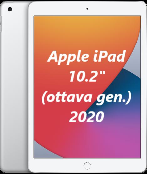 iPad: Apple iPad 2020 32GB Wi-Fi 10.2″ MYLA2TY/A NUOVO ITALIA Tablet Silver 8gen.