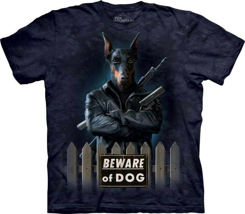 The Mountain Guard Panzer T Shirt Top Guard Hund Doberman Dog Batik S-3XL  3218   | Bequeme Berührung  | New Product 2019  | Sonderpreis