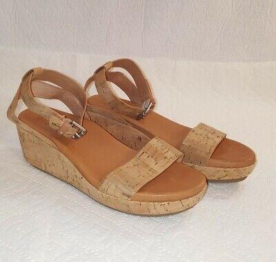 Platform Wedge Heel Sandals 8M
