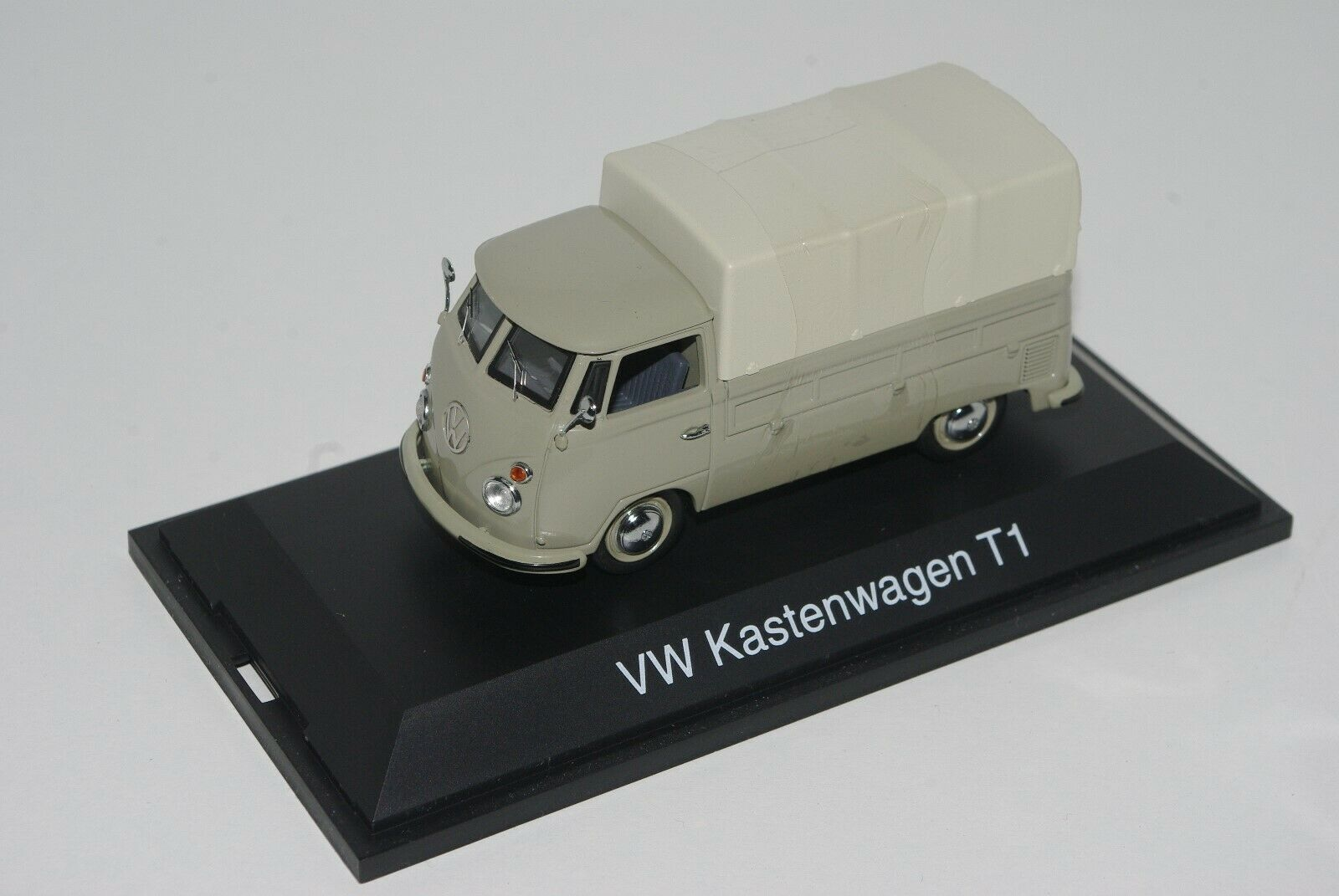 Schuco 1 43 VOLKSWAGEN VW PLANENWAGEN T1 splitscreen pickup grau
