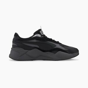 Details about New Puma RS-X3 Puzzle Black/Castlerock Sneakers Running Shoes  2020